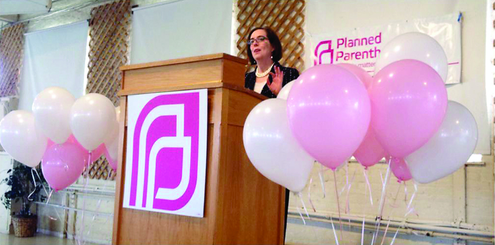 Image result for kate brown planned parenthood