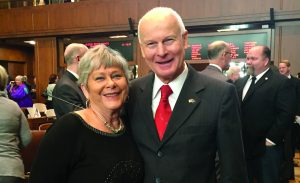 Gayle Atteberry and Dennis Richardson