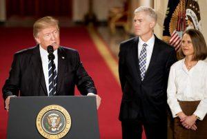 Trump Nominates Gorsuch to Supreme Court