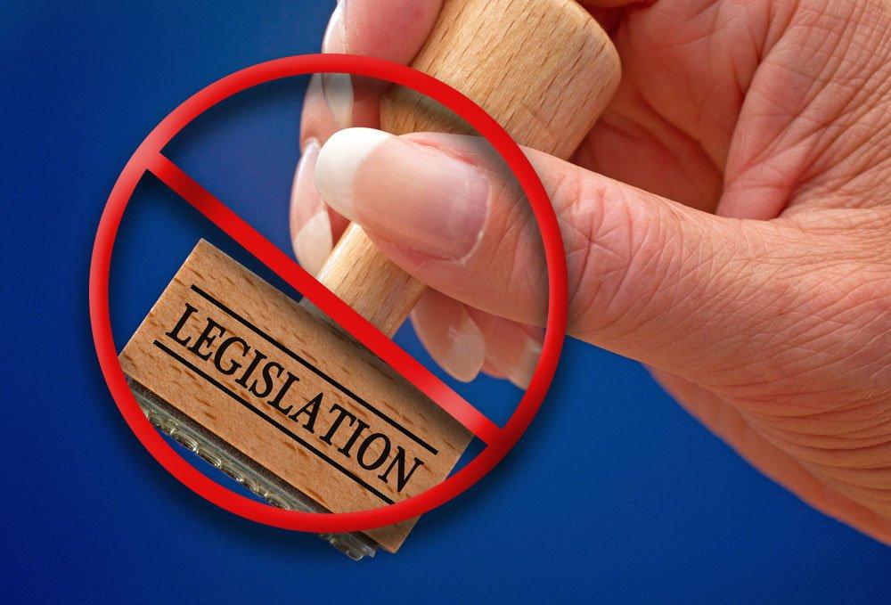 stopped legislation