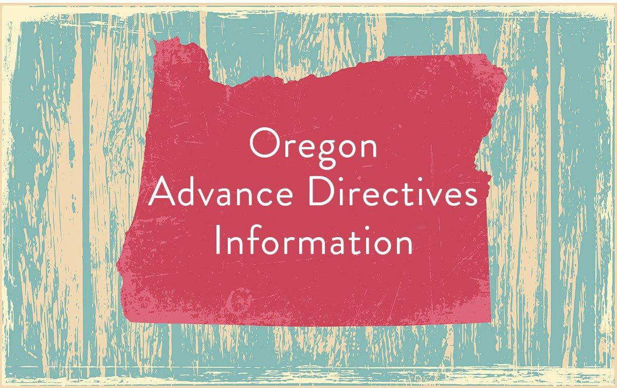 oregon advanced directive