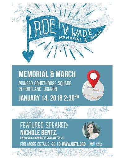 Roe V Wade memorial 2018 Nichole Bentz
