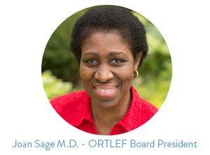 joan Sage MD ortlef board president