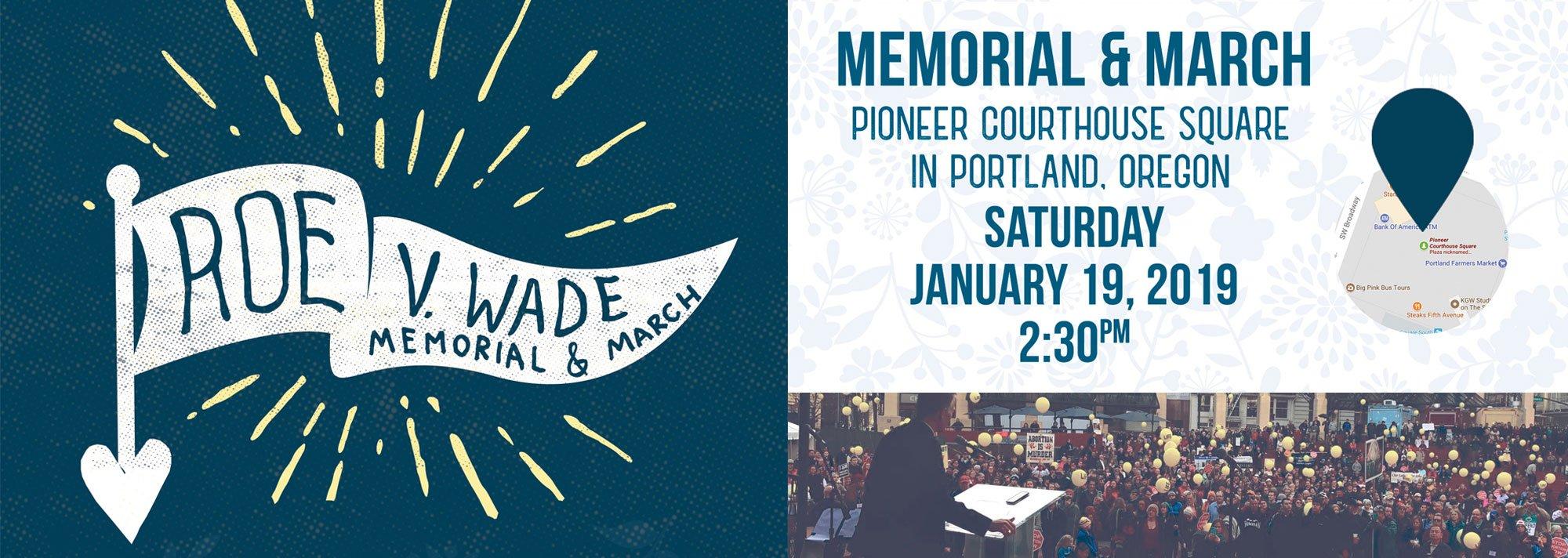 Roe v Wade memorial 2019