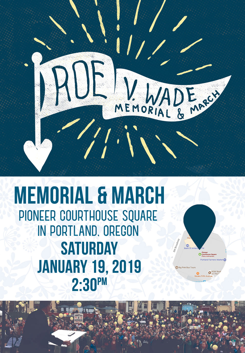 ORTL memorial and march 2019