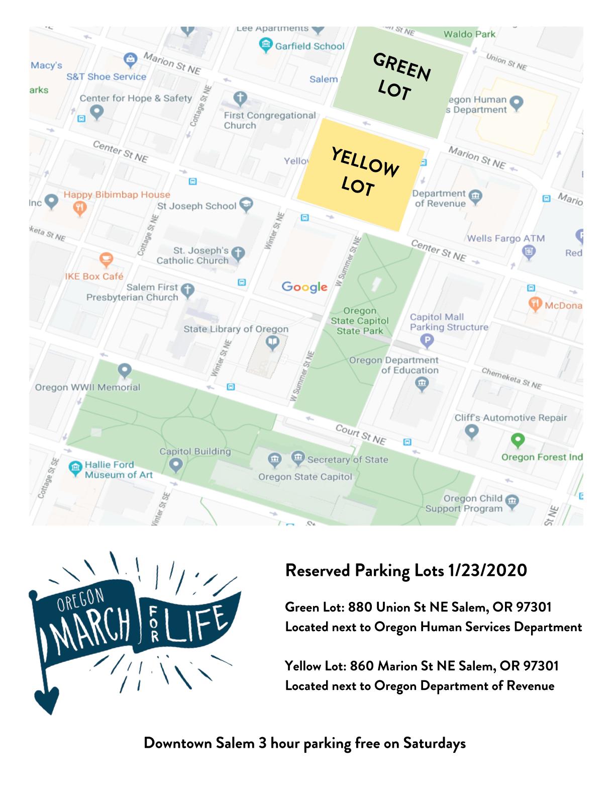 MFL21 - Parking Map